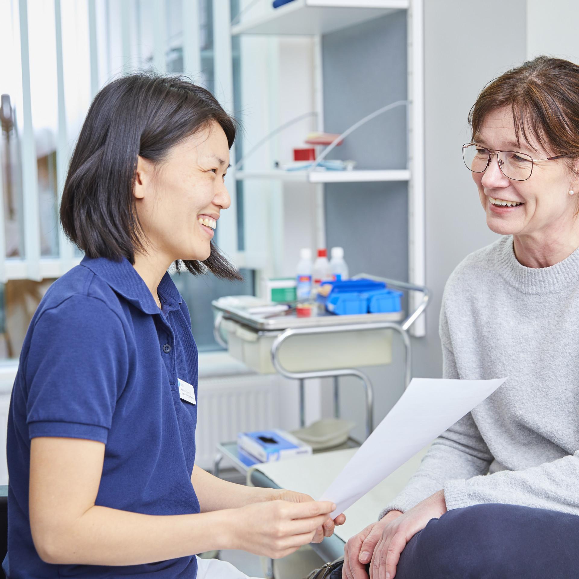 vad gör en undersköterska på vårdcentral