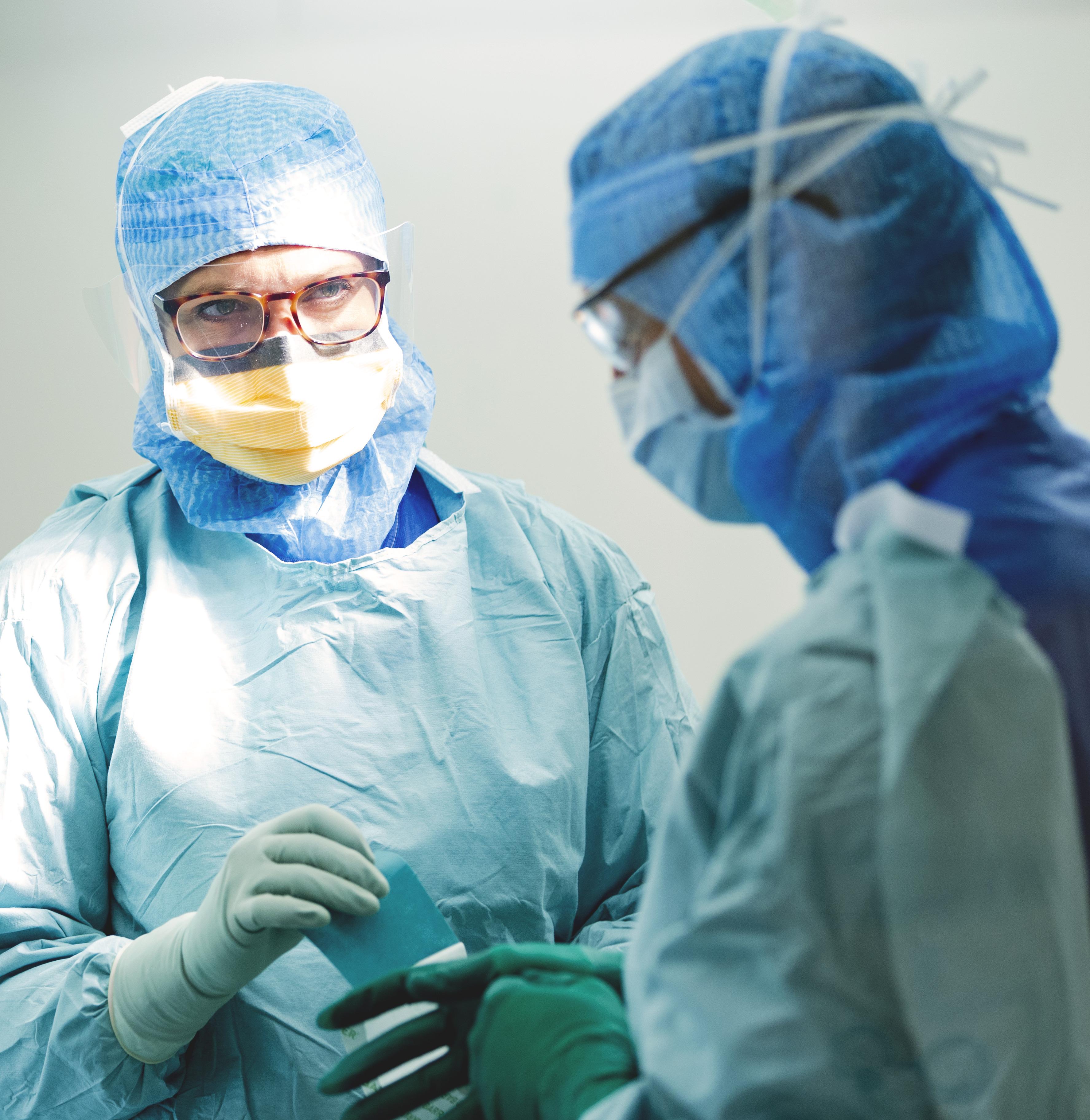 Instruktioner för patient som kommer för protesoperation av